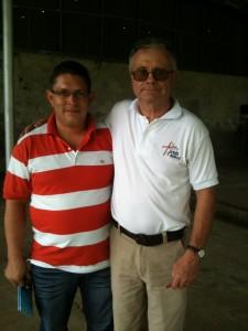 Emeron Alvarez y Bill Davidson