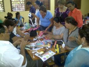 Capacitación en Honduras